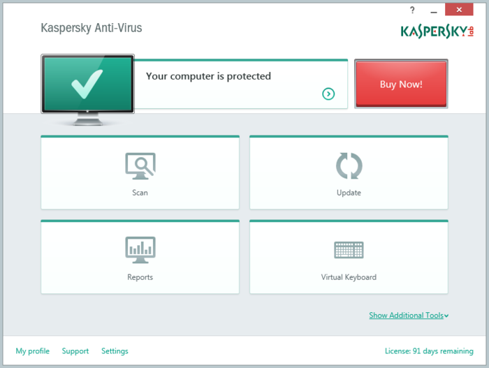 Screenshot 11 of Kaspersky Anti-Virus