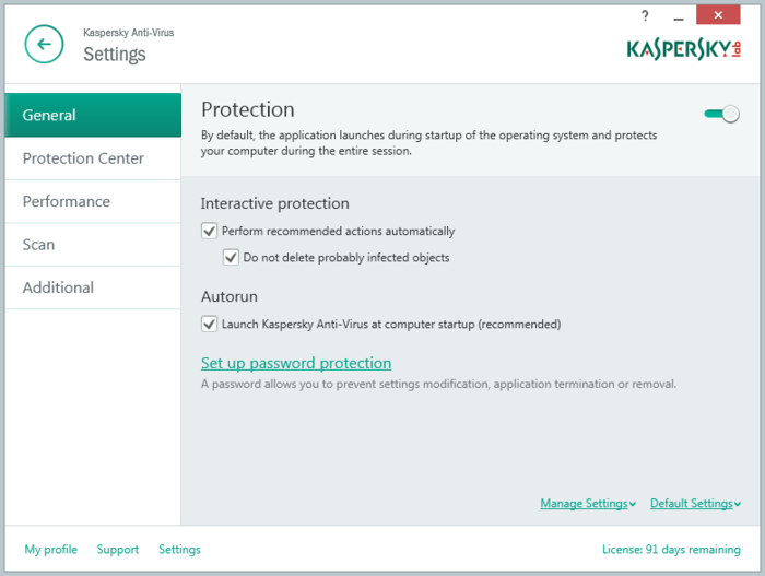 Screenshot 9 of Kaspersky Anti-Virus