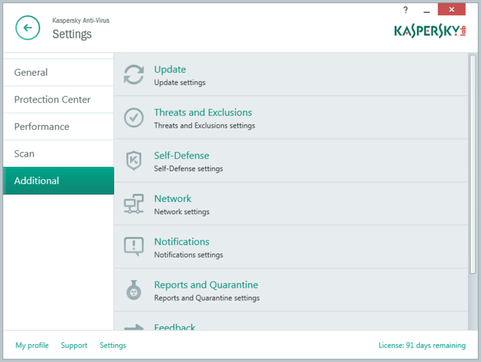 Screenshot 10 of Kaspersky Anti-Virus