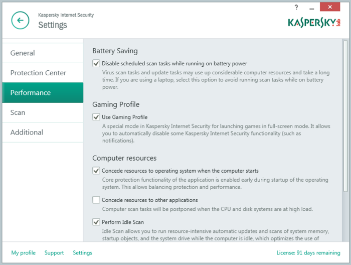 Screenshot 7 of Kaspersky Internet Security