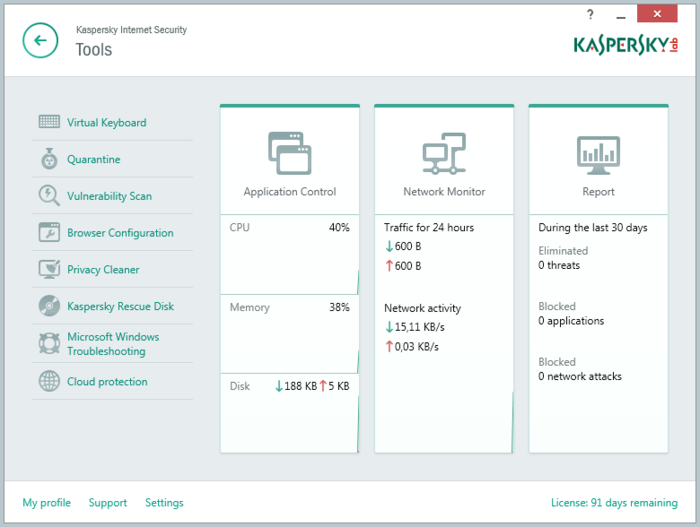 Screenshot 5 of Kaspersky Internet Security