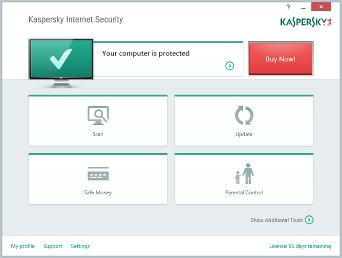 Screenshot 8 of Kaspersky Internet Security