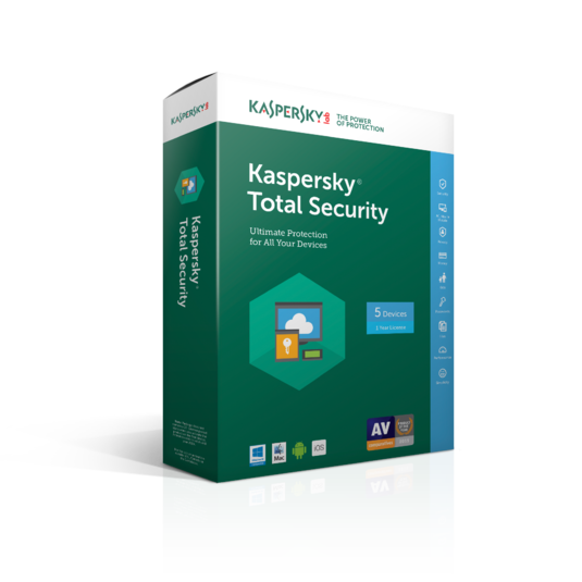 Screenshot 1 of Kaspersky Total Security Multi-Device