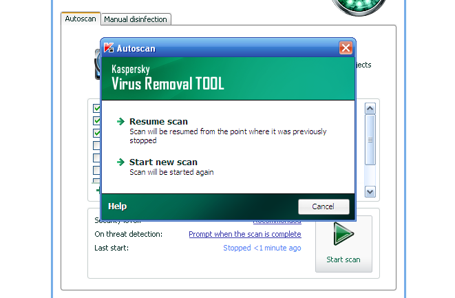 Download Kaspersky Virus Removal Tool free — NetworkIce com
