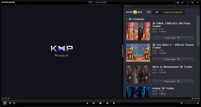 Screenshot 1 of KMPlayer