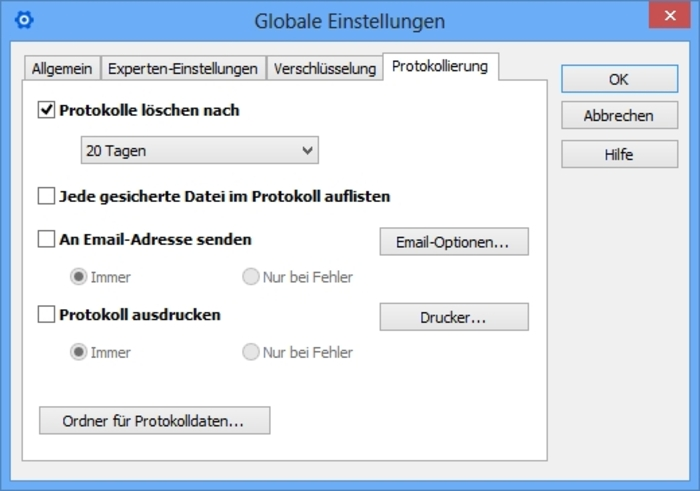Screenshot 10 of Langmeier Backup