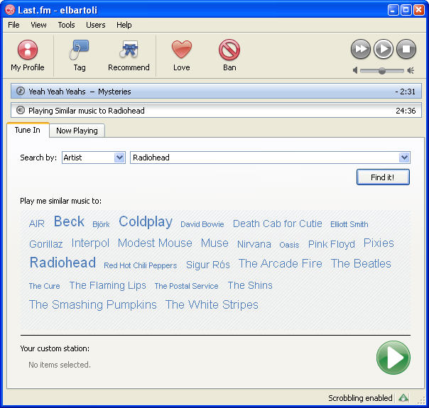 Screenshot 3 of Last.fm Scrobbler