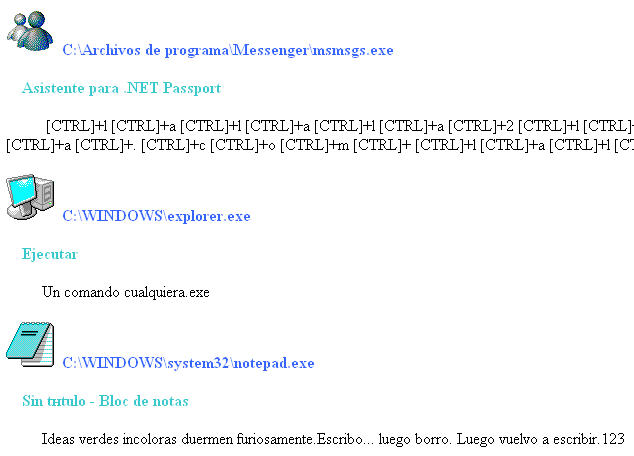 Screenshot 2 of LightLogger Keylogger