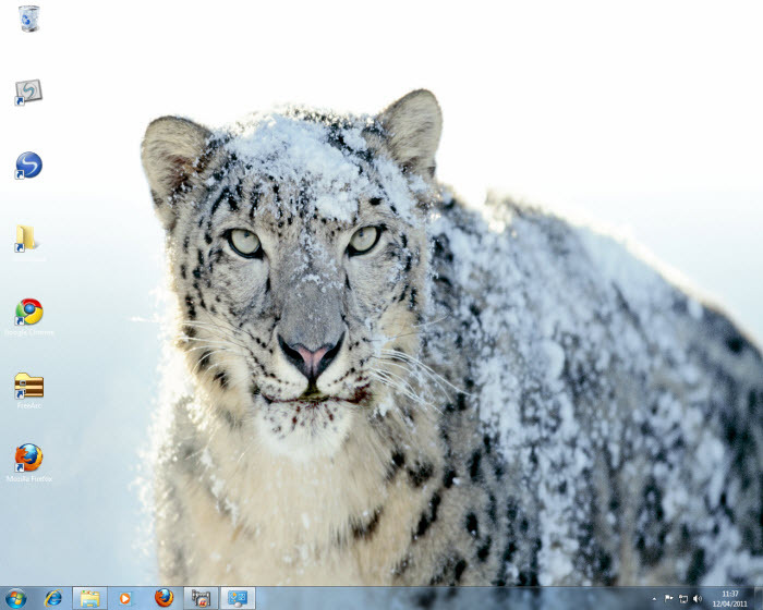 Screenshot 3 of Mac OS X Snow Leopard Theme