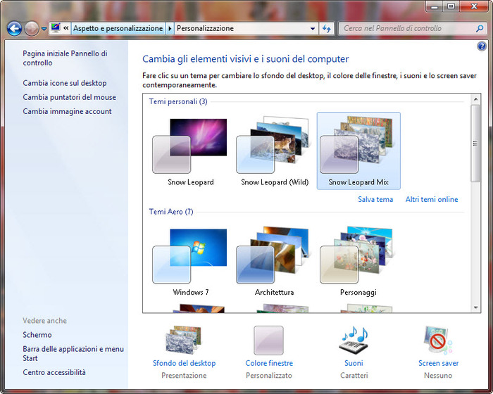 Screenshot 7 of Mac OS X Snow Leopard Theme
