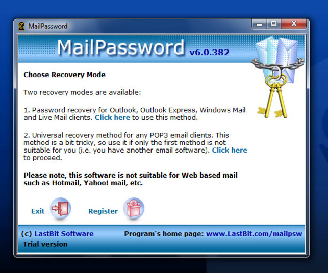Screenshot 3 of MailPassword