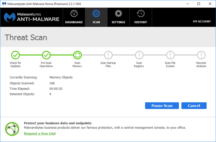 Screenshot 9 of Malwarebytes Anti-Malware