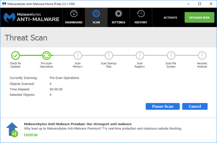 Screenshot 6 of Malwarebytes Anti-Malware