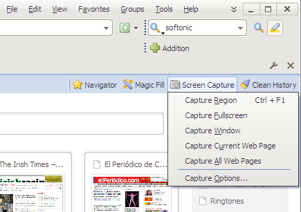 Screenshot 7 of Maxthon