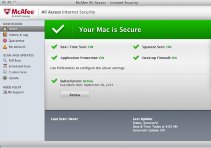 Screenshot 6 of McAfee All Access
