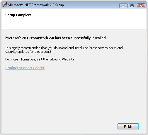 Net framework 2. 0 for windows 7? Microsoft community.