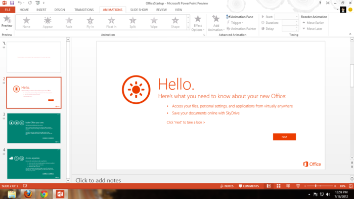 Screenshot 10 of Microsoft Office 2013