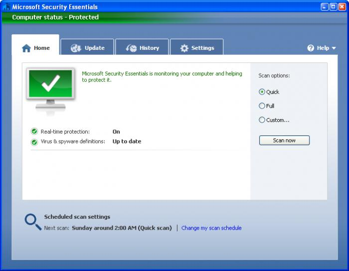 Microsoft security essentials for windows xp free download.
