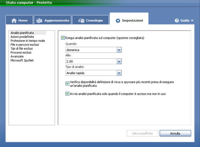 Screenshot 4 of Microsoft Security Essentials