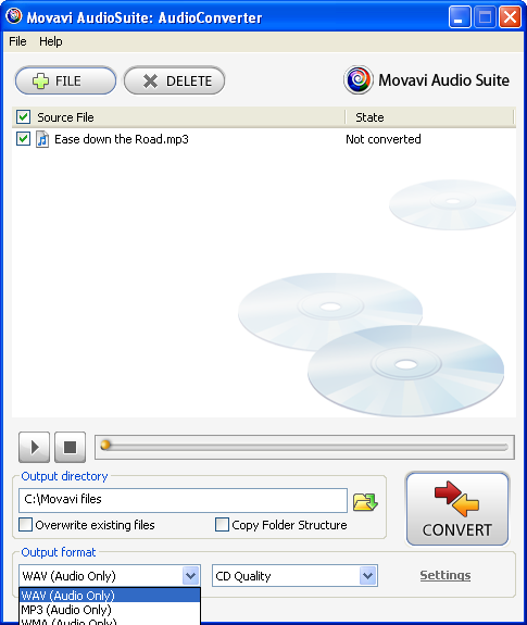 Screenshot 4 of Movavi Audio Suite