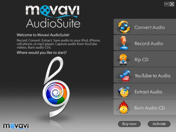 Screenshot 5 of Movavi Audio Suite