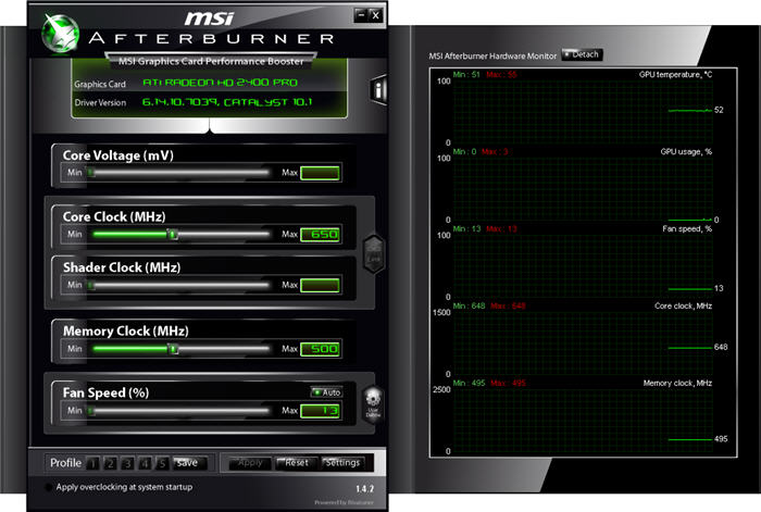 Screenshot 3 of MSI Afterburner