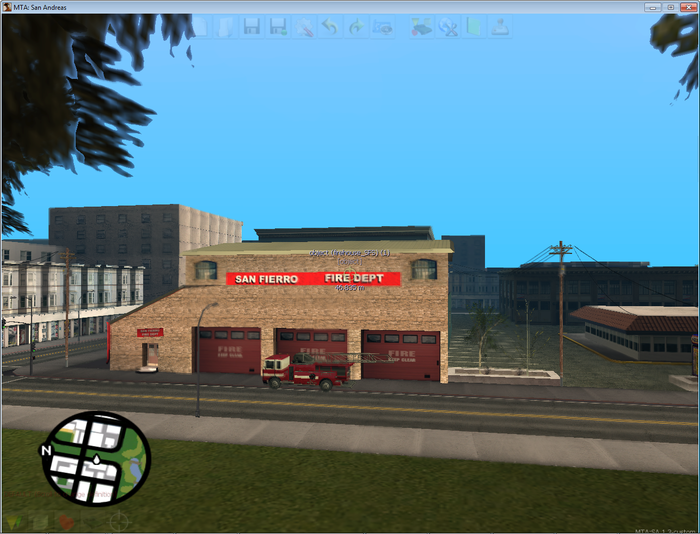 Multi theft auto: san andreas free download.