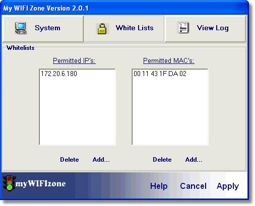 Screenshot 3 of myWIFIzone Internet Access Blocker