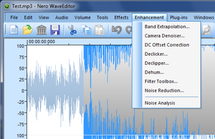 Screenshot 4 of Nero Wave Editor