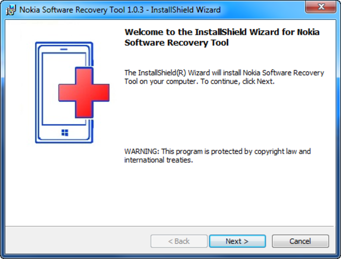 Screenshot 6 of Nokia Software Recovery Tool