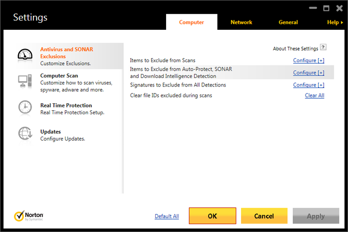 Screenshot 5 of Norton Antivirus