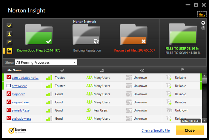 Screenshot 13 of Norton Antivirus