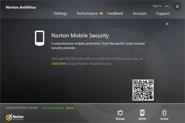 Screenshot 7 of Norton Antivirus