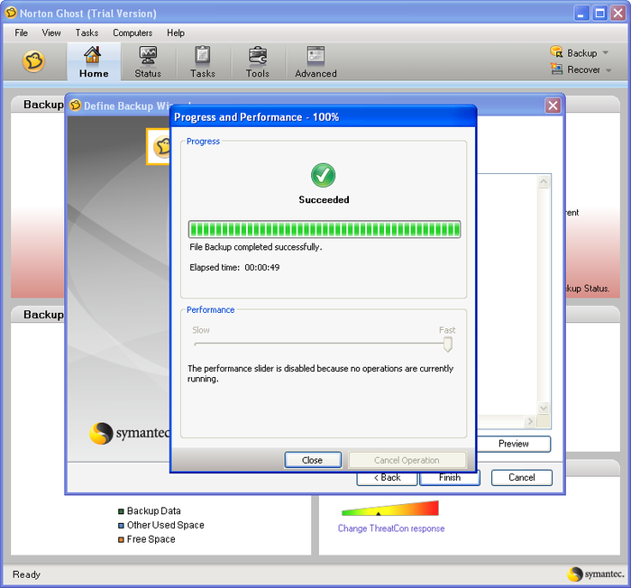 Screenshot 1 of Norton Ghost