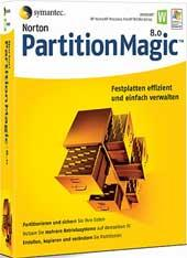 Screenshot 1 of Norton Partition Magic