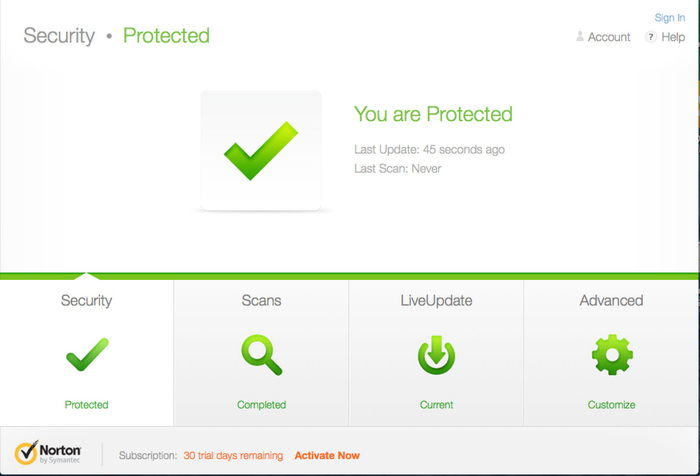 Screenshot 3 of Norton Security Premium