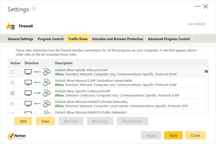 Screenshot 1 of Norton Security Premium