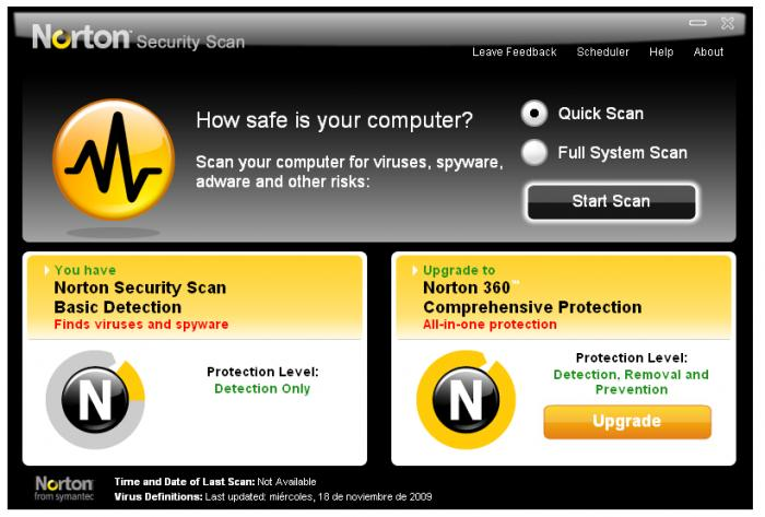 Screenshot 5 of Norton Security Scan
