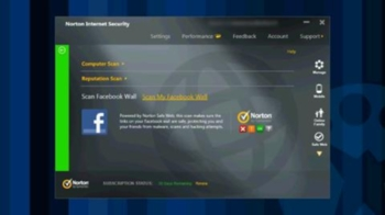Screenshot 1 of Norton Internet Security