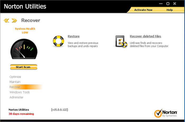 Screenshot 6 of Norton Utilities