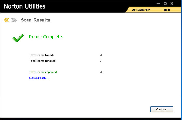 Screenshot 5 of Norton Utilities