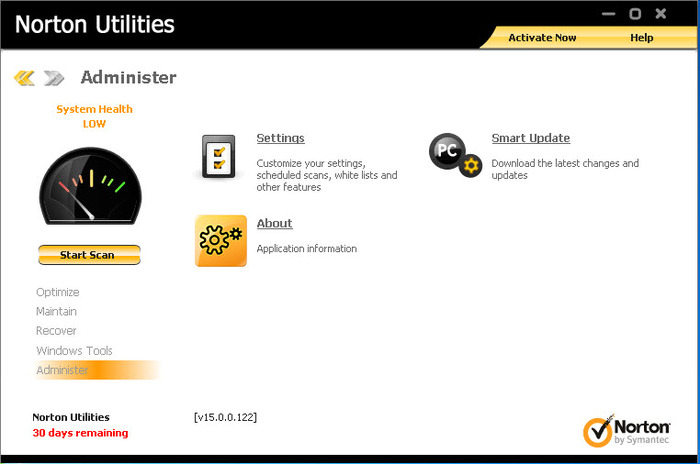 Screenshot 1 of Norton Utilities