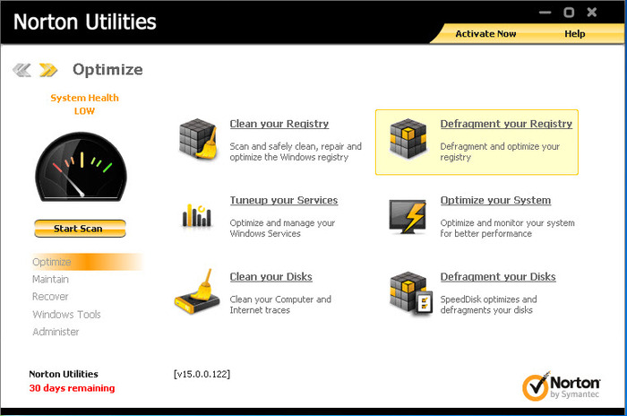 Screenshot 2 of Norton Utilities