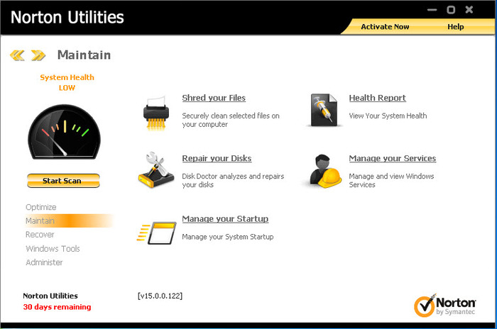 Screenshot 7 of Norton Utilities