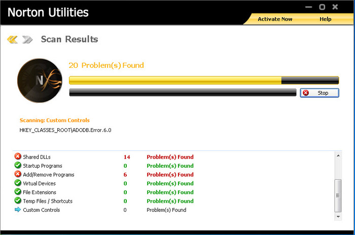 Screenshot 4 of Norton Utilities