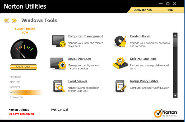 Screenshot 10 of Norton Utilities