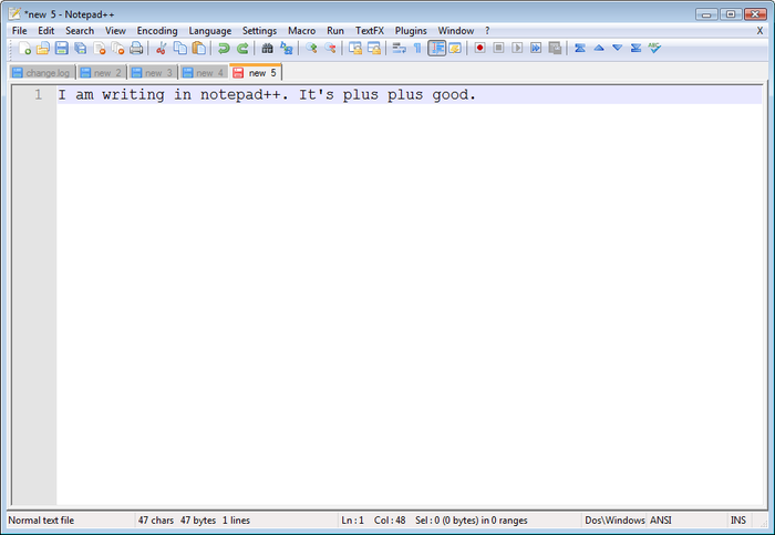 Screenshot 9 of Notepad++