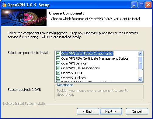 Screenshot 1 of OpenVPN