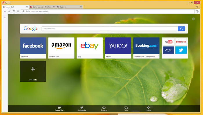 Screenshot 3 of Opera Browser
