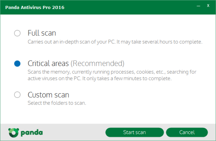 Screenshot 4 of Panda Antivirus Pro
